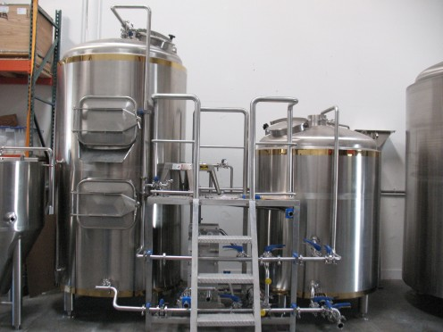 Premier Stainless - 15-barrel Brewhouse